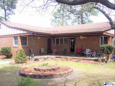 Dillon SC Single Family Home For Sale: $129,900
