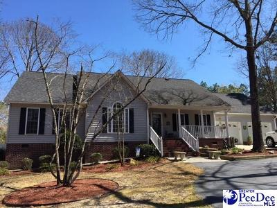 Hartsville SC Single Family Home Active-Price Change: $280,900