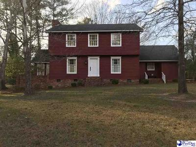 Darlington Single Family Home Uc/Show For Back Up: 2116 Lide Springs Rd