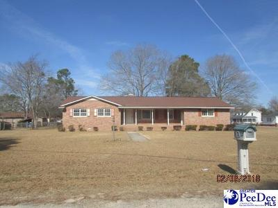 Dillon SC Single Family Home For Sale: $149,900