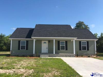 Florence SC Single Family Home Uc/Show For Back Up: $121,900