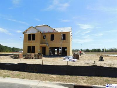 Florence SC Single Family Home Uc/Show For Back Up: $229,819