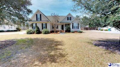 Hartsville Single Family Home Uc/Show For Back Up: 1441 Manchester Drive