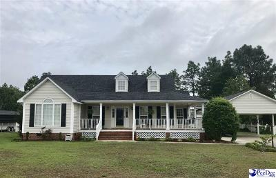 Hartsville SC Single Family Home For Sale: $220,000