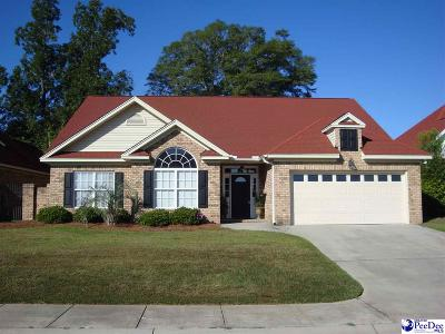 Florence County Single Family Home Uc/Show For Back Up: 950 Via Salvatore
