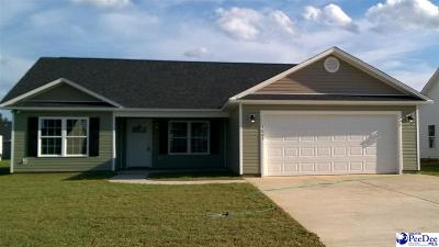 Florence SC Single Family Home For Sale: $158,000