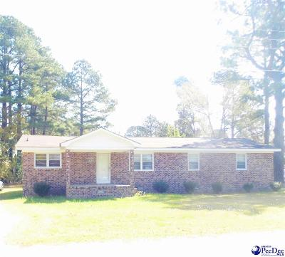 Dillon SC Single Family Home For Sale: $77,900