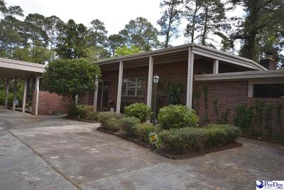 Florence Single Family Home For Sale: 724 Fairway Drive