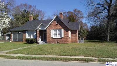 Bennettsville Single Family Home For Sale: 115 Townsend Street