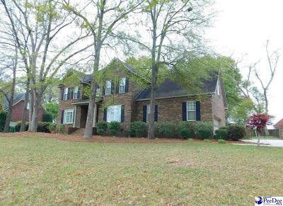 Florence Single Family Home Uc/Show For Back Up: 3128 Rutledge Manor Dr