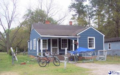 Dillon SC Single Family Home For Sale: $32,500