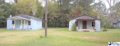 Dillon SC Single Family Home For Sale: $20,000