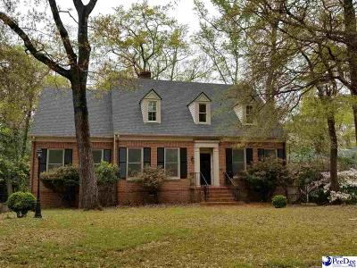 Hartsville Single Family Home For Sale: 202 Park Avenue