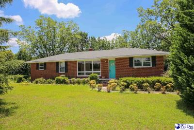 Hartsville Single Family Home For Sale: 2469 Swift Creek