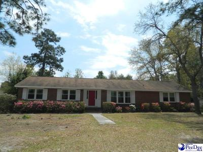 Hartsville Single Family Home For Sale: 1515 Baywood Circle