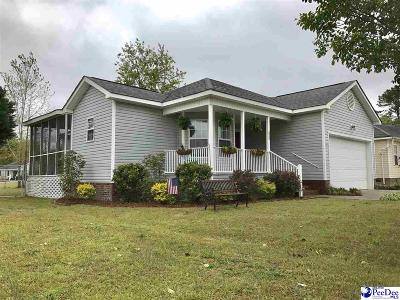 Florence SC Single Family Home Uc/Show For Back Up: $124,900