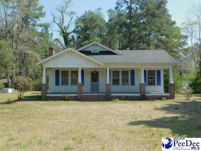 Florence Single Family Home For Sale: 5913 Pamplico Hwy