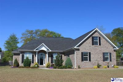 Florence Single Family Home For Sale: 2009 Butterfly Lake Dr.