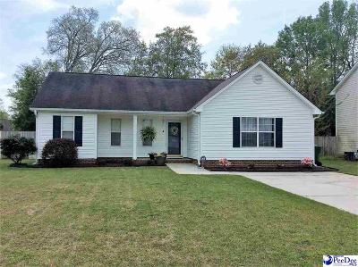 Florence SC Single Family Home New: $124,900