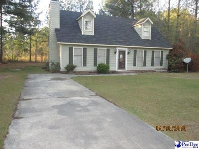 Florence SC Single Family Home For Sale: $64,500