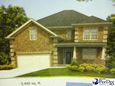 Florence SC Single Family Home New: $241,990