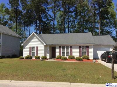 Florence SC Single Family Home For Sale: $115,000