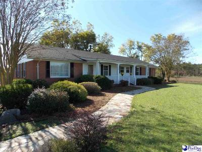 Bennettsville Single Family Home For Sale: 128 Antioch Church Rd