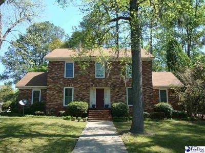 Darlington County Single Family Home For Sale: 201 Green Drive