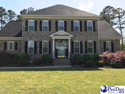 Florence SC Single Family Home New: $525,000