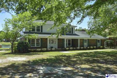 Florence Single Family Home For Sale: 108 Timberlake Dr.