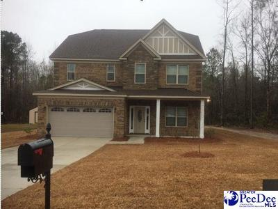 Florence SC Single Family Home Uc/Show For Back Up: $225,990
