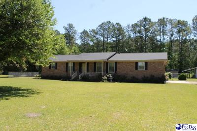 Timmonsville Single Family Home Uc/Show For Back Up: 1648 Timmons Road