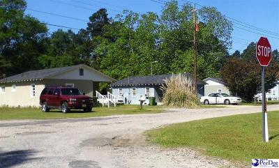 Dillon SC Single Family Home For Sale: $96,000