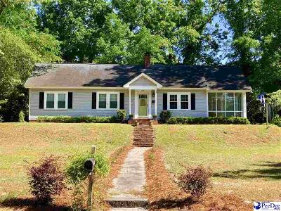 Hartsville Single Family Home For Sale: 115 Greenwood Ave