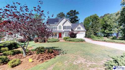 Hartsville Single Family Home For Sale: 499 Sandy Point Ln