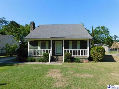 Florence Single Family Home Uc/Show For Back Up: 1007 Buchanan Drive