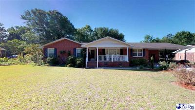 Hartsville Single Family Home For Sale: 1636 Baywood Circle