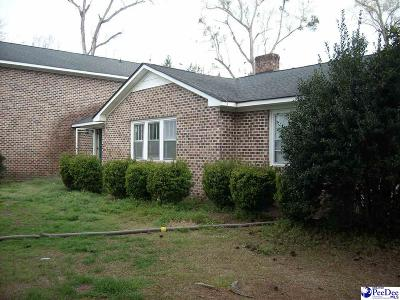Pamplico Single Family Home Uc/Show For Back Up: 1477 W Hwy 378 Hannah