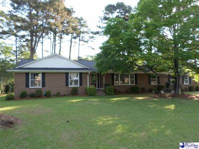 Florence Single Family Home For Sale: 2705 W Edgefield Road