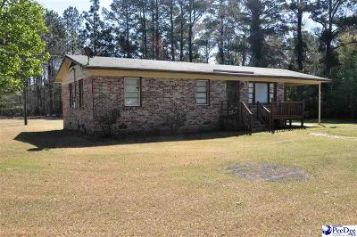 Dillon SC Single Family Home For Sale: $59,900
