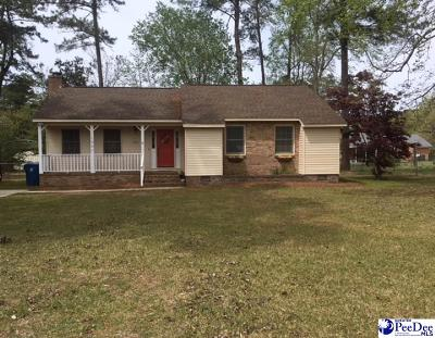 Hartsville Single Family Home Uc/Show For Back Up: 1027 Edgewood