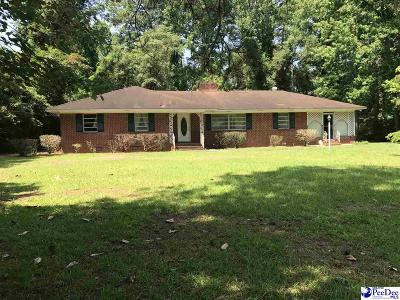 Bennettsville Single Family Home Uc/Show For Back Up: 406 Dogwood Avenue