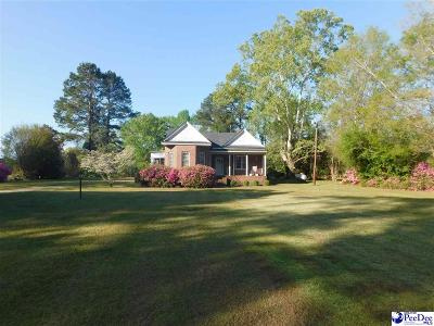 Timmonsville Single Family Home Active-Extended: 2954 Creek Road