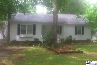 Florence SC Single Family Home For Sale: $126,000
