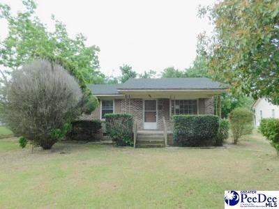 Marion SC Single Family Home For Sale: $39,900