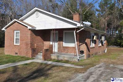 Bennettsville Single Family Home For Sale: 214 Grace Heights