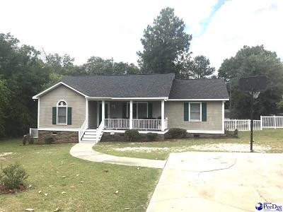 Darlington County Single Family Home Active-Price Change: 208 Hickory Dr