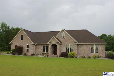 Effingham Single Family Home For Sale: 8141 Hill Harrell Rd.