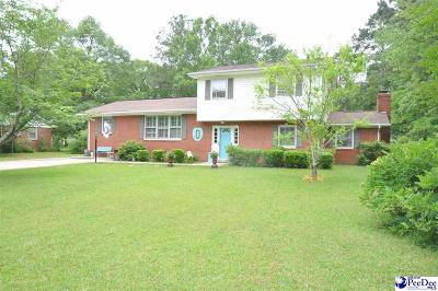 Bennettsville Single Family Home Uc/Show For Back Up: 403 Oakwood Street