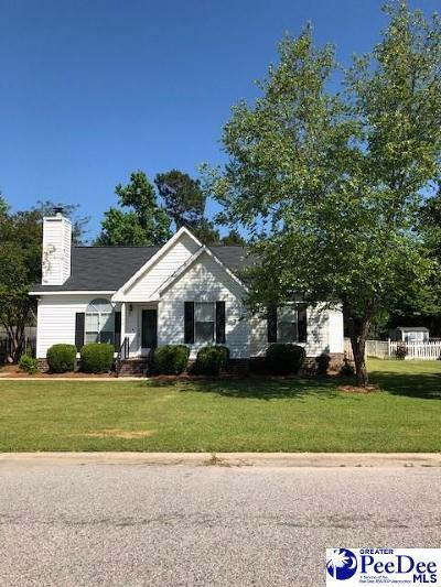 Florence Single Family Home Uc/Show For Back Up: 920 Leyland Dr